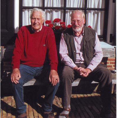 (v.l.) Jo Douschut, Friedrich Volmer treffen sich 2013