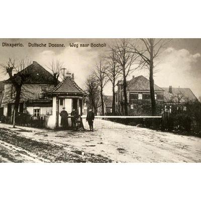 Dinxperlo Duitse douane  Suderwick, plek grensincident  1931- bron B. Maandag, Dinxperlo en De Heurne 2006