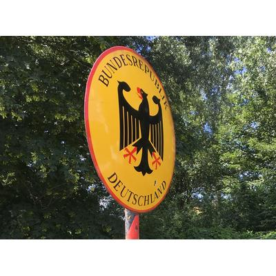 Grenzschild bij Suderwick-Dinxperlo