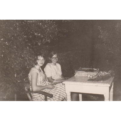 Mit Hetty in Nordhorn 1964