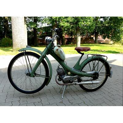 Ein Moped der Marke NSU Quickly von 1955 (CC SA BY Oxfordian Kissuth)