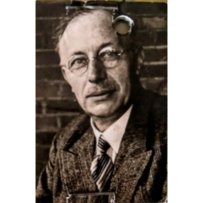 Carl Adolf Schweizer (1888 – 1957), technisch directeur spinnerei Eilermark, Gronau