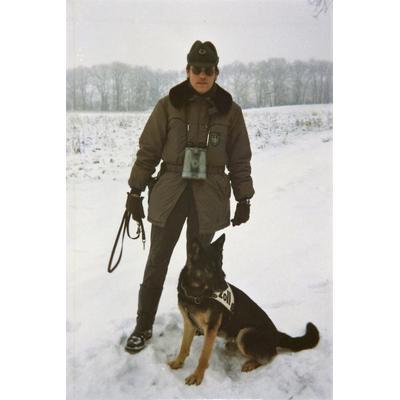 Grenzpatrouille mit Hund, 1977