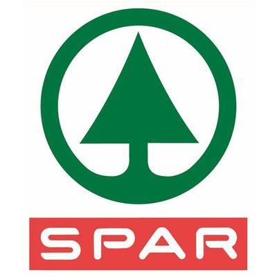 """Logo Spar. Die Tanne, nl. de spar ist ein Akronym für: """"Door Eendrachtig Samenwerken Profiteren Allen Regelmatig"""""""
