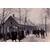 Winterliche Straßenszene am Zollamt neben Brüggenhütte um 1914. Sammlung Ben Maandag; Suderwicker Heimatkalender 2014.