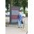Die Texttafeln stehen in Suderwick / Dinxperlo entlang der Grenze im öffentlichen Raum